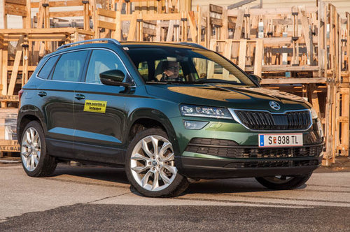 skoda karoq 2 0 tdi 4x4 style im test offroader tests offroad. Black Bedroom Furniture Sets. Home Design Ideas