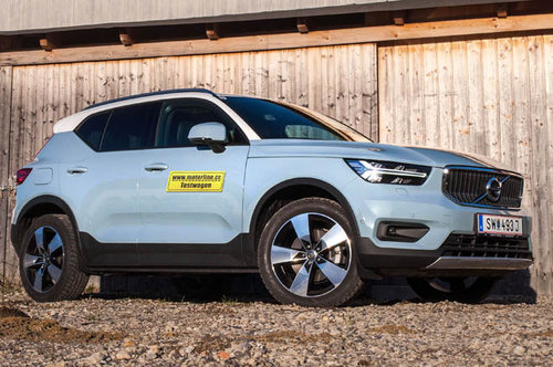 volvo xc40 d4 awd geartronic im test offroader tests offroad. Black Bedroom Furniture Sets. Home Design Ideas