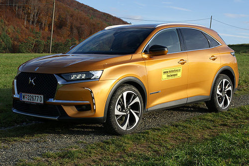 DS 7 Crossback BlueHDi 180 EAT8 - im Test DS 7 Crossback 2019