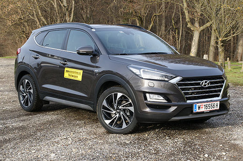 Hyundai Tucson 2.0 CRDi 4WD AT Level 6 - im Test Hyundai Tucson 2019