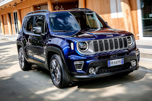 Jeep Renegade MultiJet 140 AT 4WD - im Test Jeep Renegade 2019