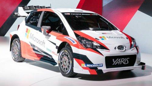 Microsoft Partner bei Rückkehr von Toyota in die Rallye-WM