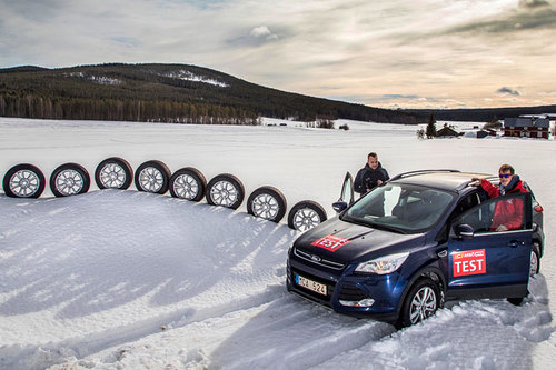 Ford Kuga Winterreifentest 2017