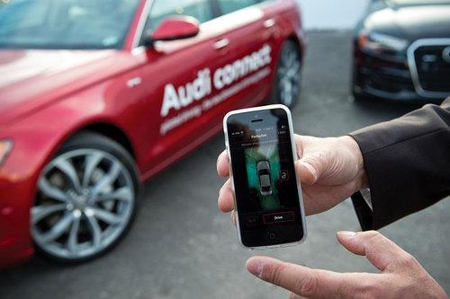 Ferngesteuert quer- und längs einparken Audi ferngesteuert einparken 2017