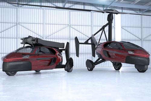 PAL-V Liberty Pioneer: flugfähiges Auto PAL-V Liberty Pioneer