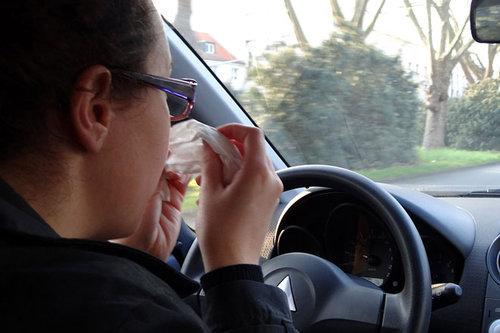 Pollenallergie - was tun im Auto?